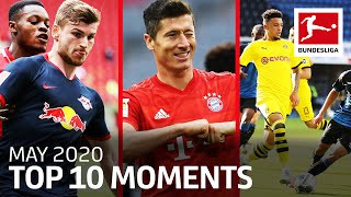 Dortmund vs. Bayern, Revierderby Goals, Sancho's Record and More - Top 10 Moments May