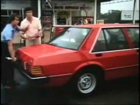 Australian Ad Ford Falcon - 1984