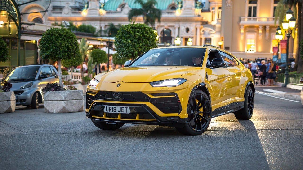 Brand New Lamborghini Urus Driving In Monaco Youtube