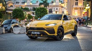 Brand New Lamborghini Urus Driving in Monaco !