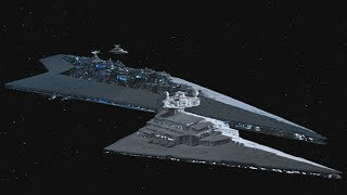 Star Wars Most Powerful Ship: IMPERIAL SUPER STAR DESTROYER