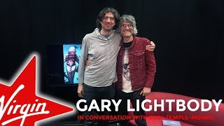 Gary Lightbody from Snow Patrol in conversation with Eddy Temple-Morris