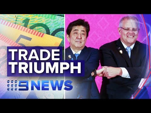 Australia Signing Up To The World's Biggest Free Trade Deal | Nine News Australia