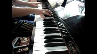 Лунная соната на пианино