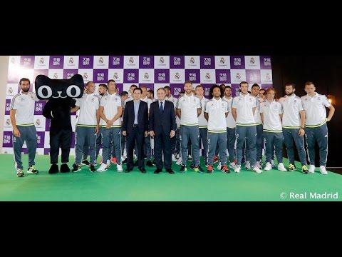 El Real Madrid presentó el acuerdo con el grupo Alibaba - 동영상