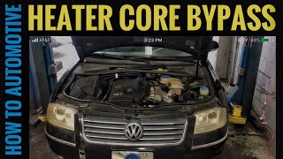 How to Bypass the Heater Core on a Volkswagen B5 Passat 1.8 Turbo