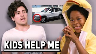 Kids Help Me After a Car Accident