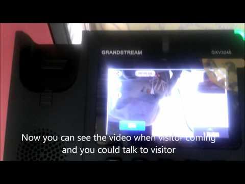 DP-104 Video Door Phone and Grandstream PBX UCM6104, GXV3240