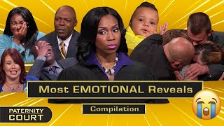 Paternity Court's Most EMOTIONAL Reveals (Pt. II) | 25-Minute Compilation | Paternity Court