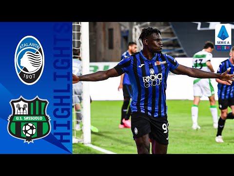 Atalanta 4-1 Sassuolo | Zapata Grabs a Brace as Atalanta put 4 Past Sassuolo! | Serie A TIM