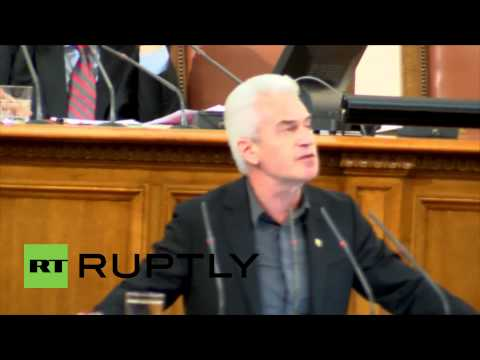 """Bulgaria: Siderov condemns """"idiotic sanctions"""" against Russia"""