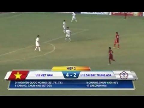 u15  Vietnam 5 - 2  u15 Đài Bắc (TQ) 2017 + u22 : Viet nam VS Philippines (xem phần mô tả nhé!) |.