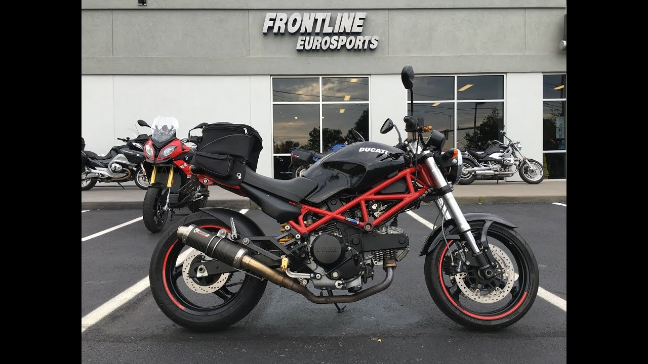 new used inventory @ frontline eurosports: 2007 ducati monster 695