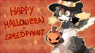 Happy Halloween! [Speed Paint]