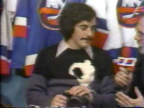 Bruce Bennett with Stan Fischler - 1982