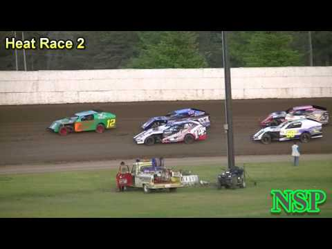 June 3, 2017 Modifieds Heat Races 1 & 2 Grays Harbor Raceway