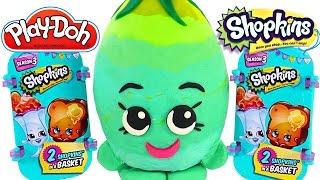 62 SHOPKINS Season 2 Blind Baskets NEW Play Doh Giant Shopkins Surprise Eggs by DCTC