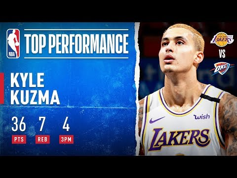 Kuzma Pours In 36 PTS!