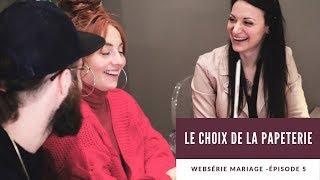 WEBSÉRIE MARIAGE -  ÉPISODE 5 - LA PAPETERIE