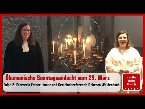 Ökumenische Sonntagsandacht aus Duisburg vom 29. März