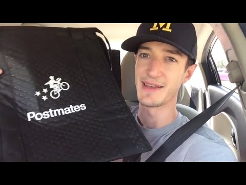 A Day in the Life of a Postmates Delivery Driver (Review, Earnings, Tips, Suggestions)