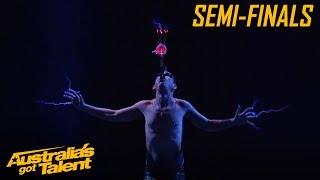 Space Cowboy Gets Electric | Semi Finals | Australia's Got Talent
