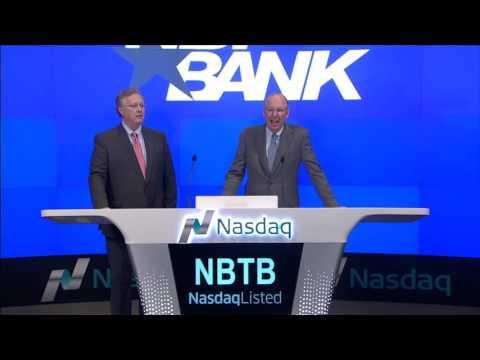 NBT Bancorp Rings Nasdaq Opening Bell