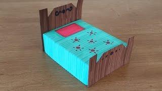 Paper Furniture: Bed
