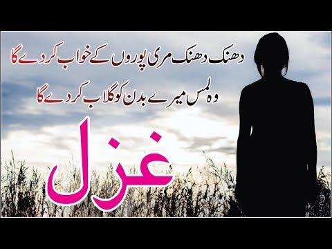 dhanak-dhanak-meri-puron-ke-khwab-kar-de-ga-|-video-ghazal-|-urdu-hindi-poetry-shayari-collection