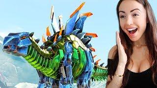 ROBOT DINOSAURS! - ARK Survival Evolved (Episode 6)