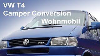 VW T4 Camper Conversion Wohnmobil Caravan Volkwagen Nutzfahrzeug Bus Bulli 12V Elektrik DIY