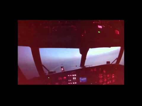 E-2C Hawkeye Night Carrier Landing
