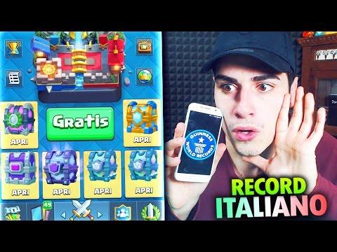 CHEST OPENING GRATIS più GRANDE D'ITALIA !!! Clash Royale