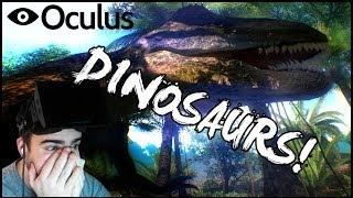 Jurassic Rift / Dino Park | VIRTUAL REALITY DINOSAURS (Oculus Rift)