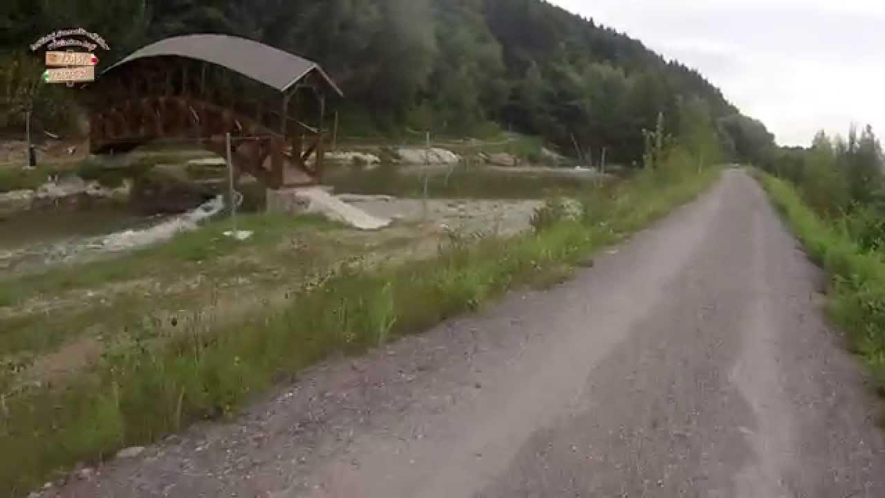 16723a0e3 Cyklotrasa - BikeKia - hrad Budatín, Strečno, VD Žilina - YouTube