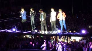 One Direction - Change My Mind/One Way Or Another - Take Me Home Tour - London o2 23/02/13 Matinee