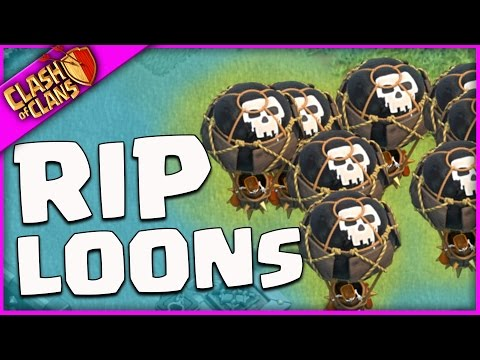 ARE BALLOONS FINISHED IN 2017 Clash of Clans?