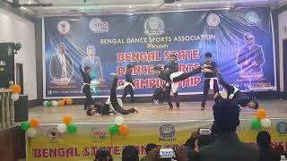 Contemporary dance choreography by Sukanta sir