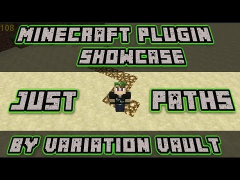 how to make paths in minecraft