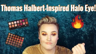 Beautiful Sunset Halo Eye Inspired by Thomas Halbert