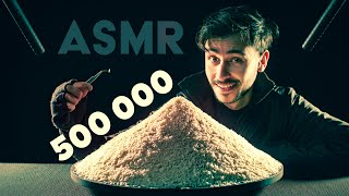 What 500'000 SUBSCRIBERS looks like? (ASMR)
