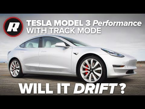 Tesla Model 3 Performance Review With More Info On Track Mode Teslamotors