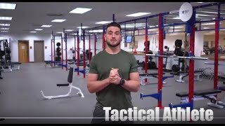 How to become a tactical athlete