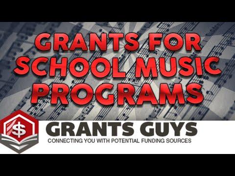 Grants for School Music Programs