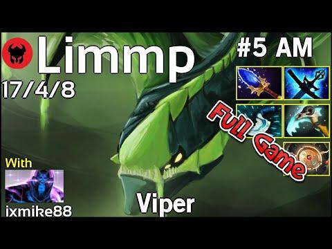 Limmp [coL] Plays Viper!!! Dota 2 Full Game 7.20