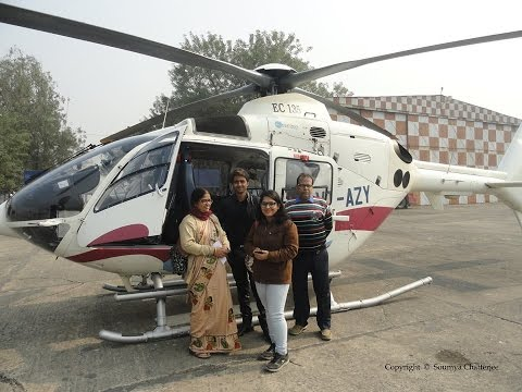 Kolkata to New Digha Helicopter Service / Behala Flying Club Helicopter  Ride(West Bengal Tourism)