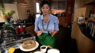Semolina Halva with Olive Oil GreekFoodTv☼