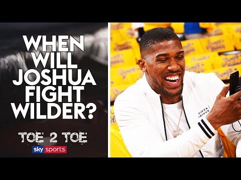 When will Anthony Joshua fight Deontay Wilder? | Frank Smith & Spencer Fearon | Toe 2 Toe