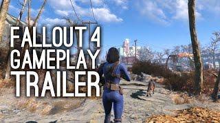 Fallout 4 Gameplay Trailer - Launch Trailer for Fallout 4