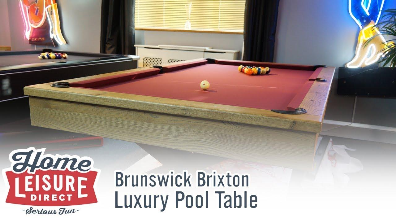 9cea2d0f0d45 Brunswick Brixton American Pool Table | Luxury Pool Table